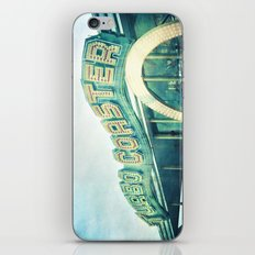 turbo coaster iPhone & iPod Skin