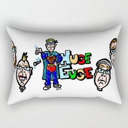Huge Euge! Pop Culture, and often Nerd culture, rap at its best! Rectangular Pillow