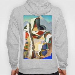 Diego Rivera Zapata Style Landscape Hoody
