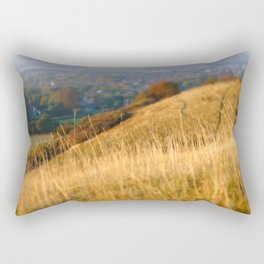 Grassy hillside Rectangular Pillow