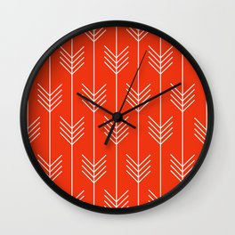BELLE ((cherry red)) Wall Clock