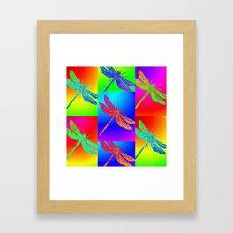 Flying colour Framed Art Print