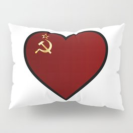 Love Russia Pillow Sham