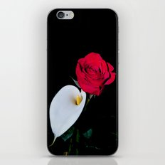Calla Lily & Rose iPhone & iPod Skin
