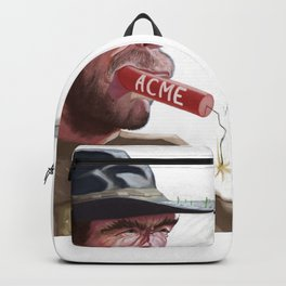 Caricature of Clint Eastwood Backpack