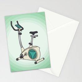 Exercise bike Stationery Cards