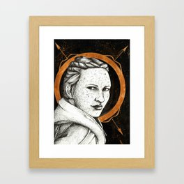 Ladies of Dragon Age: Scout Harding Framed Art Print