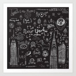 New York is always a good idea! Art Print