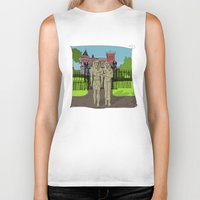 "broadway Biker Tanks featuring ""Tourists on Broadway"" 2013 a.correia by correia creative"