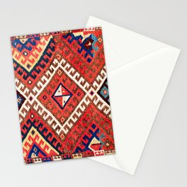 Kirghiz Afghanistan Central Asian Rug Print Stationery Cards