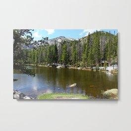 Dreamy View Of Nymph Lake Metal Print