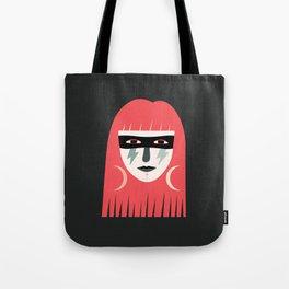 Lightning Bolt Girl Tote Bag