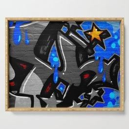Graffiti 3 Serving Tray