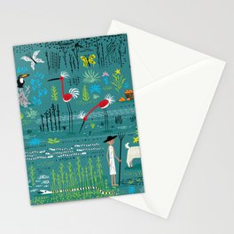 In The Marshlands Stationery Cards
