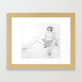 The Truth Escaped Me Framed Art Print