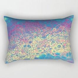Fluid Color Rectangular Pillow