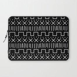 Black Mud Cloth Laptop Sleeve