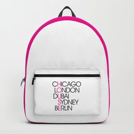 Worldwide House EDM Quote Backpack