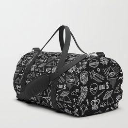 Conspiracy pattern (Censored version) Duffle Bag
