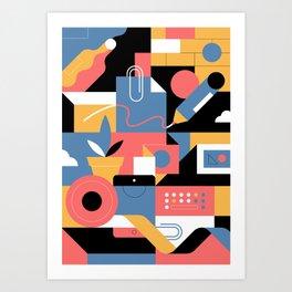 Creative Pattern I Art Print