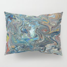Abstract Oil Painting 19 Pillow Sham