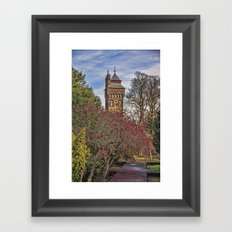 Cardiff Clock Tower. Framed Art Print