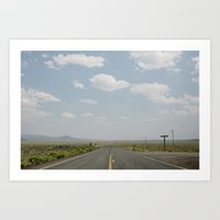 Somewhere in Idaho Art Print