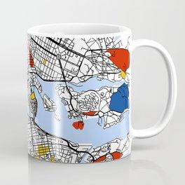 Stockholm mondrian Coffee Mug