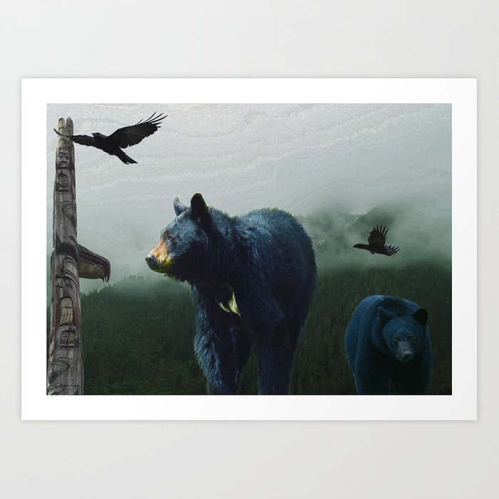 The Sacred Trail of the Great Bear Art Print