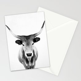 Honey - black and white Stationery Cards