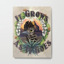It Grows As It Goes Metal Print