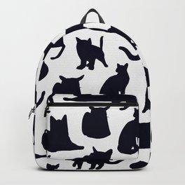 Grumpy Cats - Dark Navy Palette Backpack