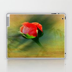 Vintage Rose Bud Laptop & iPad Skin