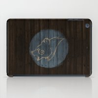 skyrim iPad Cases featuring Shield's of Skyrim - Windhelm by VineDesign