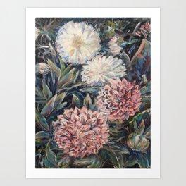 Flowers in Centennial Art Print