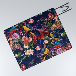 FLORAL AND BIRDS XII Picnic Blanket