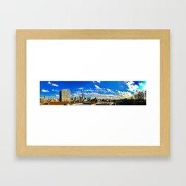 Panoramic Skyline Framed Art Print