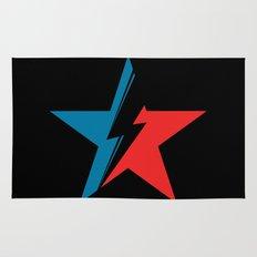 Bowie Star black Rug