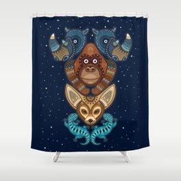 Animal Totem 7 Shower Curtain