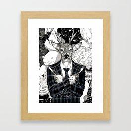 The Cryptids - Wendigo Framed Art Print