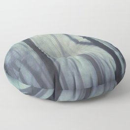 abstract Trees Floor Pillow