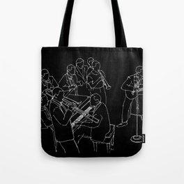 Duke Ellington jazz band Tote Bag