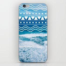 Ocean Doodles #2 iPhone Skin