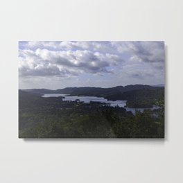 Lake Windermere, View from Orrest Head - Landscape Photography Metal Print