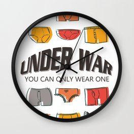 Under War: You Can Only Wear One Wall Clock