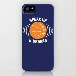 DR/BBLE iPhone Case