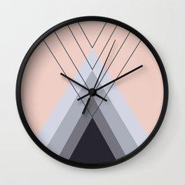 Iglu Pale Dogwood Wall Clock