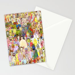 The Fuzzy Crowd Stationery Cards