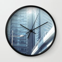 A perfect society living in a perfect world Wall Clock
