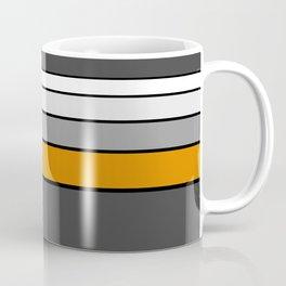 GREYSCALE STRIPES Coffee Mug